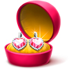Turn your friend's nick PINK for 10 days with these beautiful DIAMOND Earrings!
