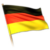 Flag of Germany [x3 during match]
