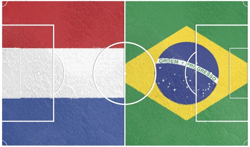 Netherlands vs Brazil - World Cup 3rd Place Match