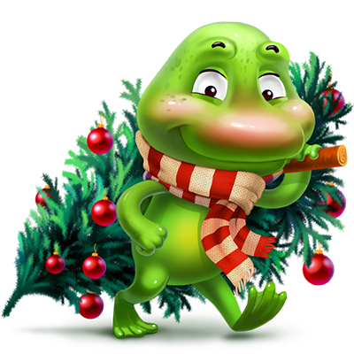 christmastreefrog