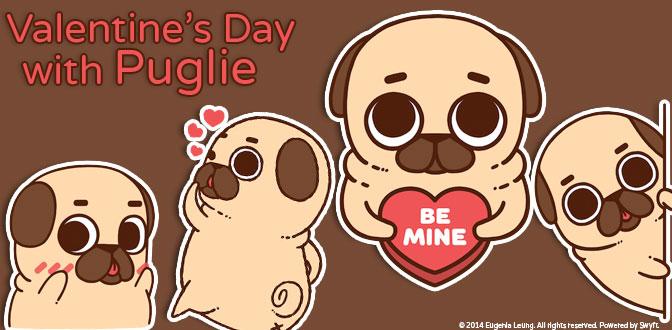 Valentines Puglie Banner noco