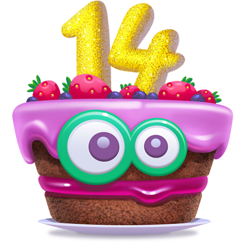 Join us in celebrating 14 years of camfrog with some fun and games for the entire month of october youll get access to all 3 of our frog sticker packs
