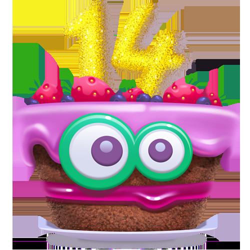 Amazing Celebrating 14 Hopping Years Camfrog Blog Funny Birthday Cards Online Alyptdamsfinfo