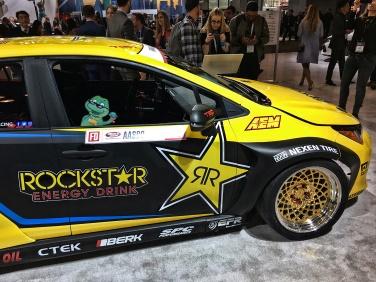 Toyota Carolla Rally car