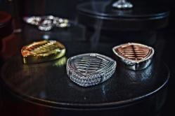 Koenigsegg keys, Rose Gold, White Gold, Gold all with diamonds