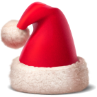 Send or receive a Santa Hat and you could win prizes